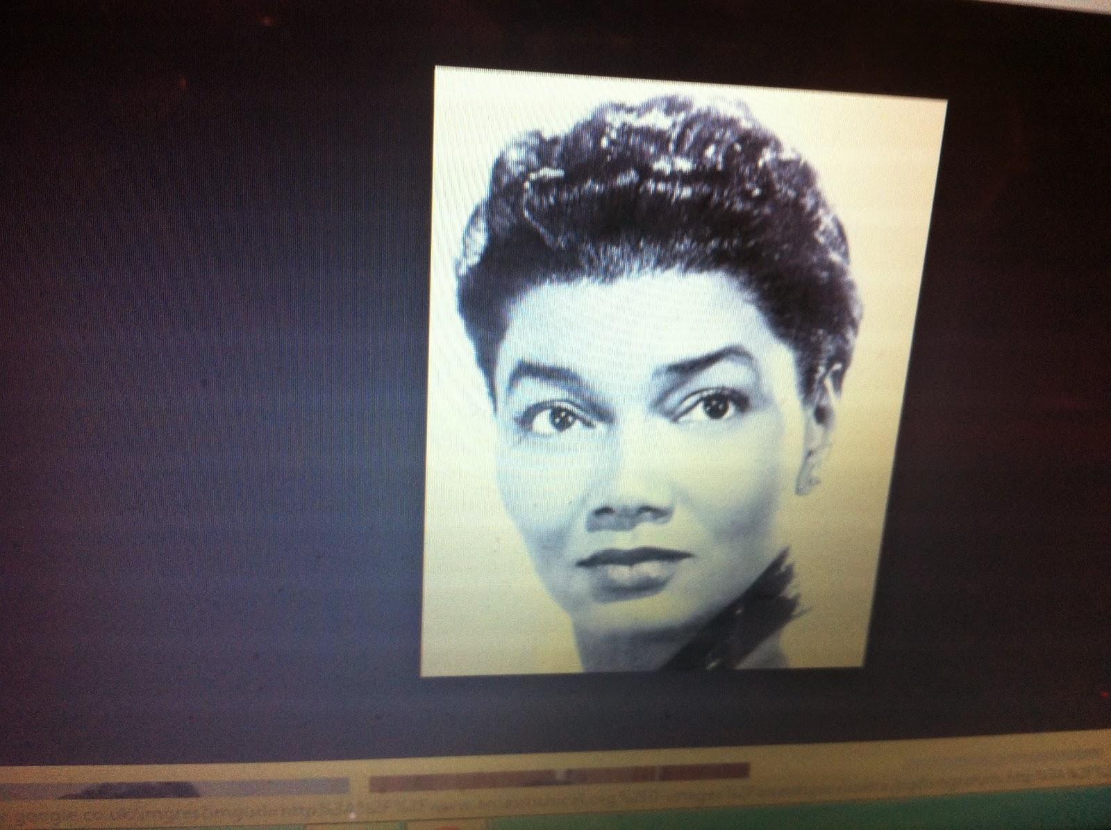 """HISTORY:: BLACK SOCIAL HISTORY : AFRICAN AMERICAN """" ROSETTA LENOIRE ... Rosetta Lenoire"""
