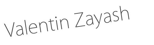 Valentin Zayash