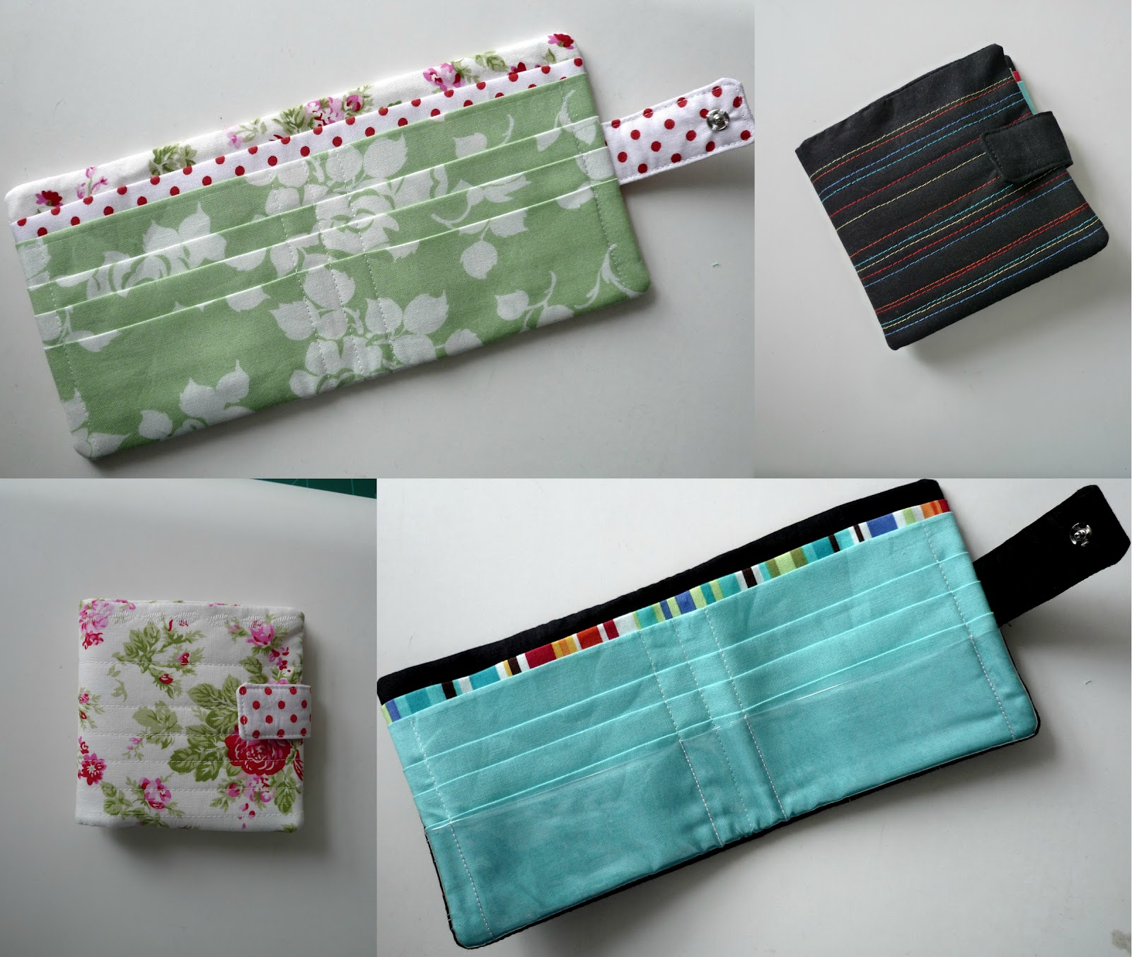 Fairyface designs sew get started fabric wallet tutorial for Cloth material for sewing