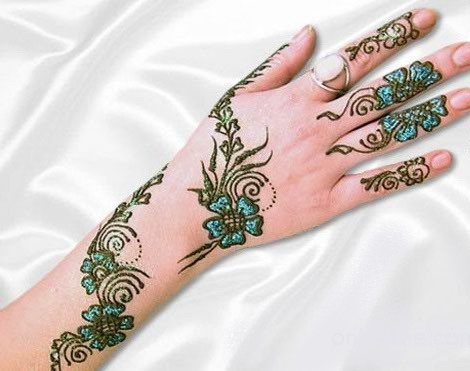 Mehndi Designs For Hands : Latest Arabic Mehndi Designs For Hands 2012