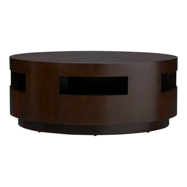 Copy Cat Chic Crate And Barrel Tambe Espresso Coffee Table