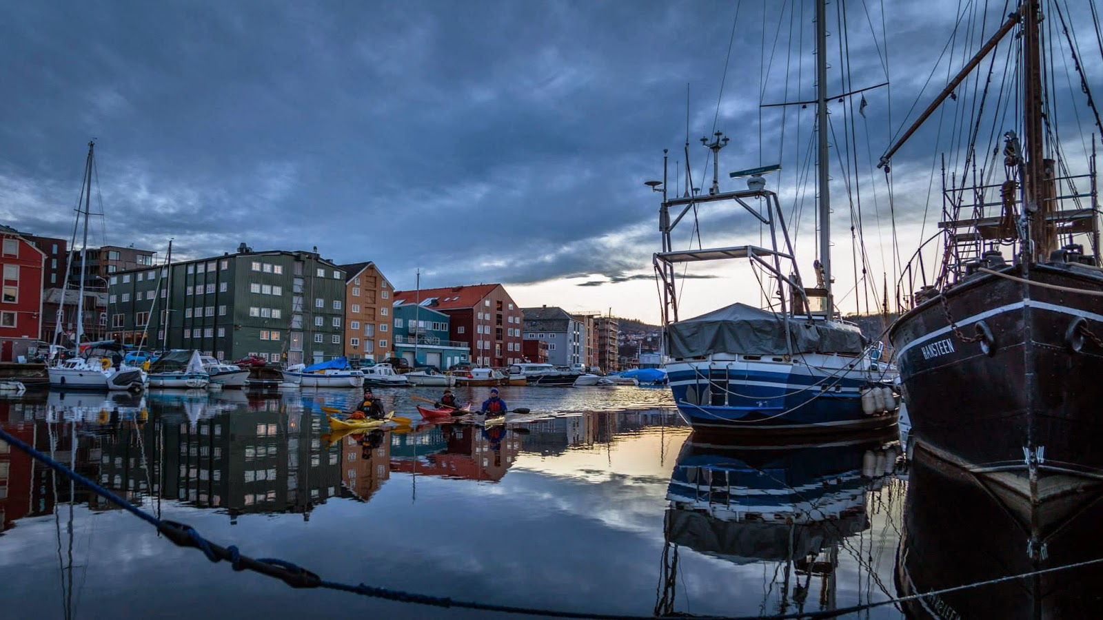 Trondheim harbour (Photo Sven-Erik Knoff)