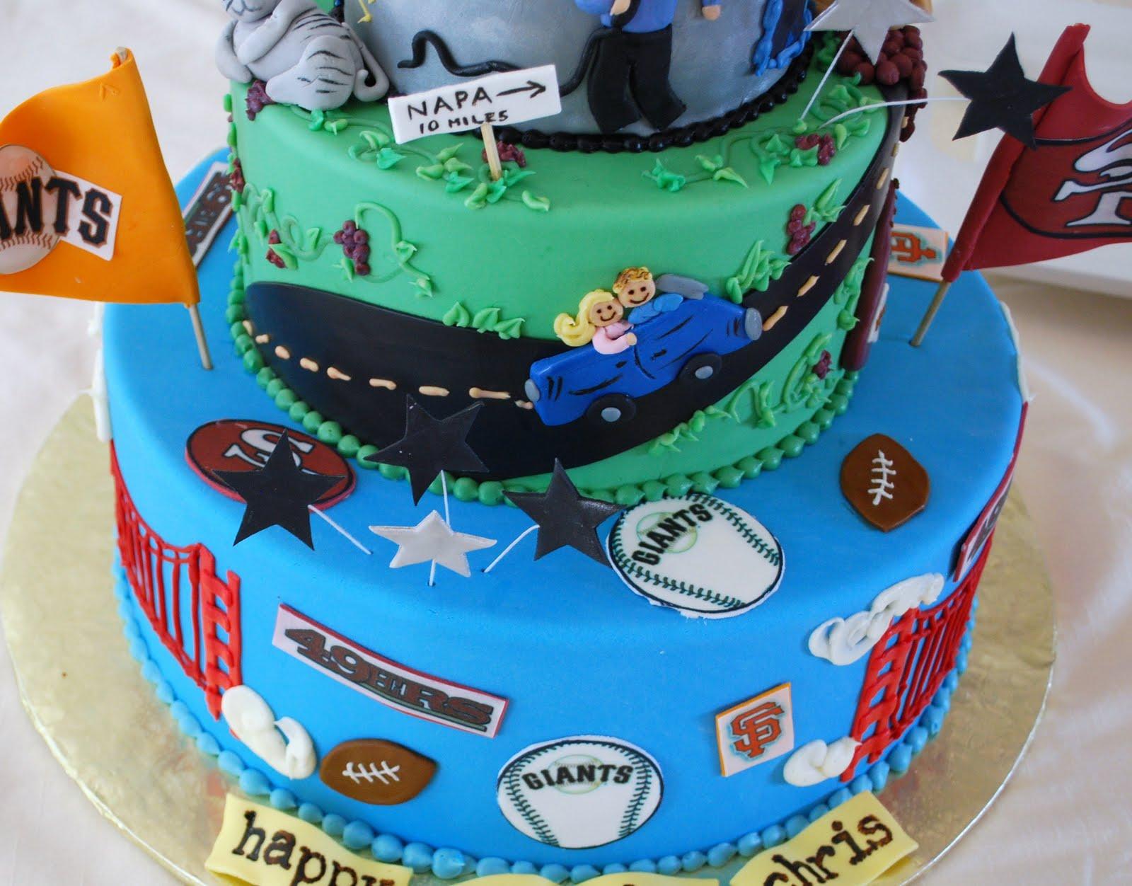 The Beehive 50th Birthday Cake