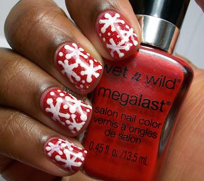 snowflake-nails