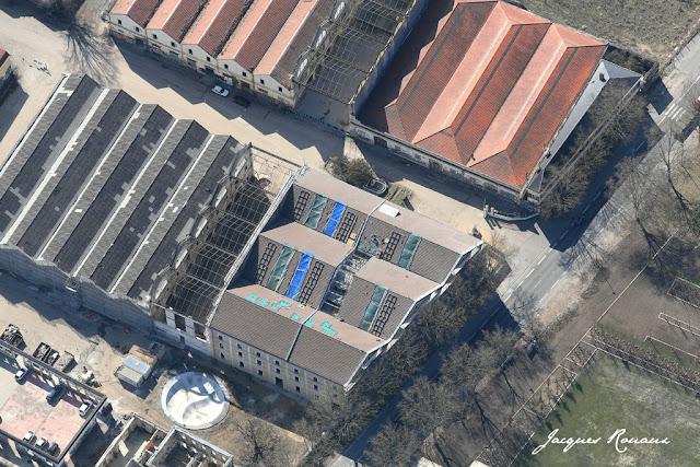 vue aerienne projet Darwin Bordeaux