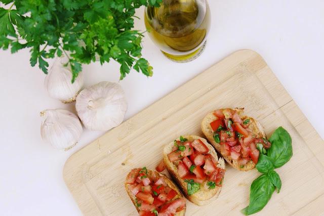 Bruschetta mit Tomaten