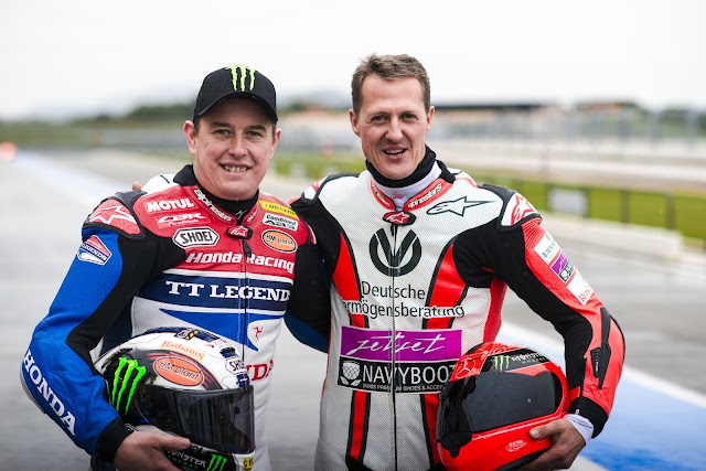 Michael Schumacher, Formula One, Isle of Man TT, John McGuinness, Motorsports,