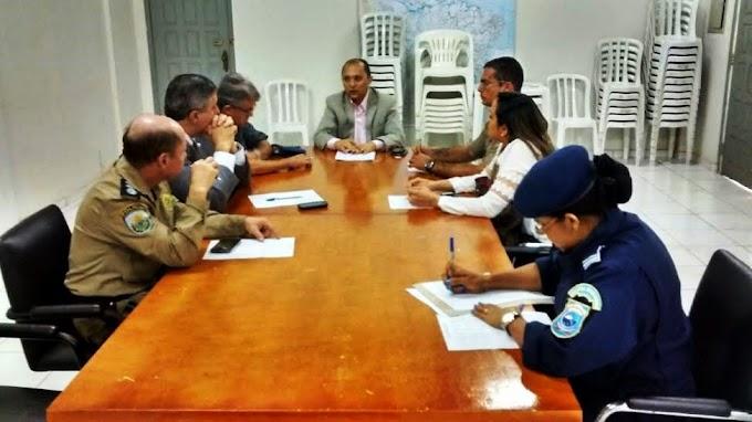 Autoridades discutem estratégias de segurança pública para o primeiro semestre em Caxias