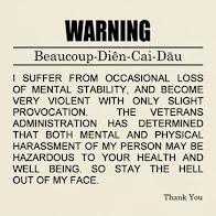 Troisième avertissement