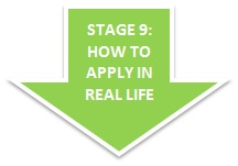 Stage 9: How to apply in real life