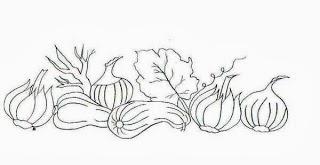 desenhos de legumes e alhos para pintar