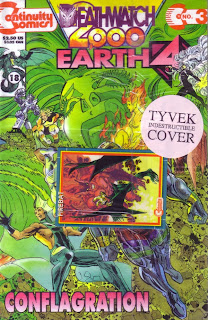 Cover of Earth 4 Deathwatch 2000 #3 from Continuity Comics