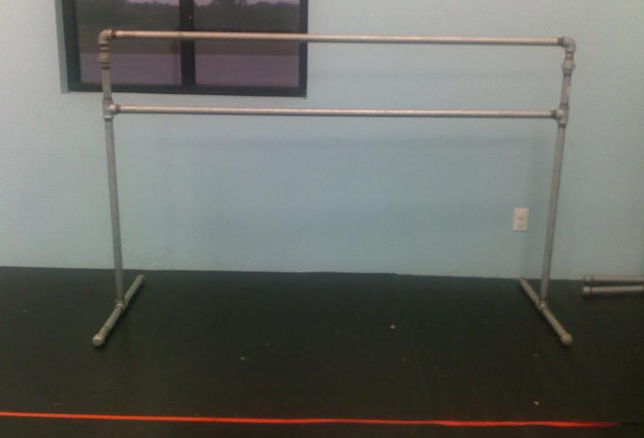 For connecting the barres together if you are using PVC pipe you will need a compound which is sold in small cans. One is a cleaner/prep and then you ... & The Dance Buzz: The Search for Portable Ballet Barres