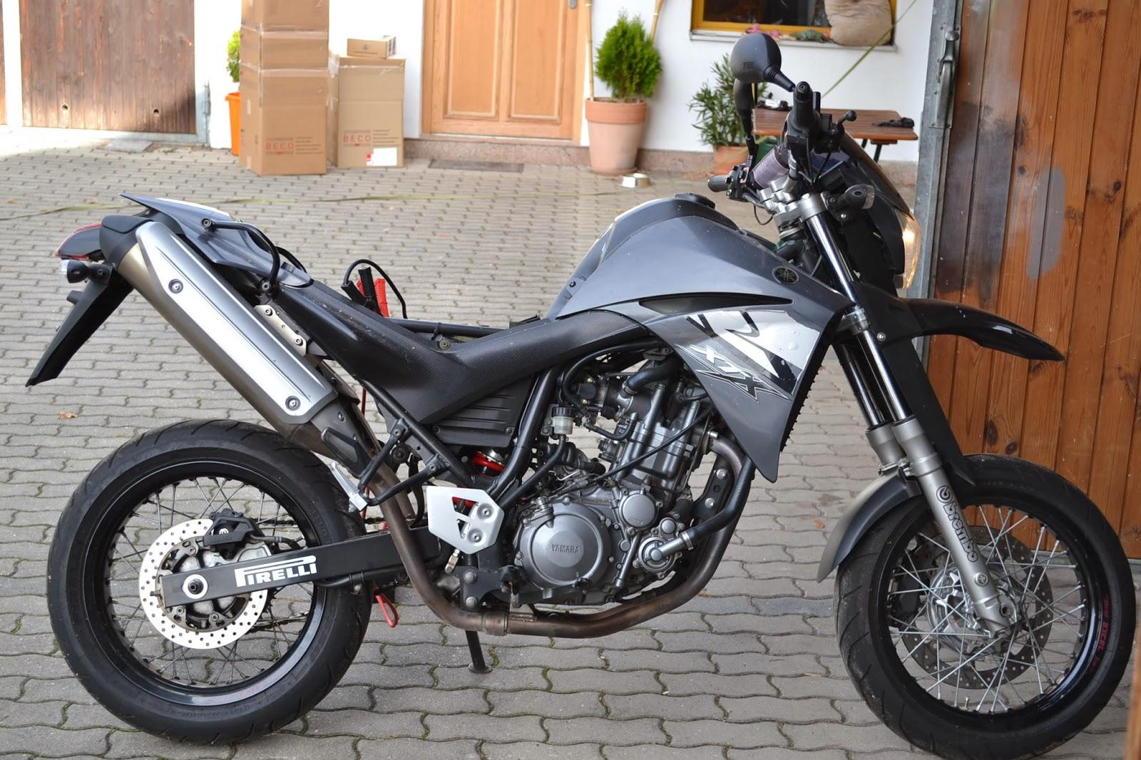 gebrauchte motorradteile schraubertipps yamaha xt 660 x supermoto. Black Bedroom Furniture Sets. Home Design Ideas