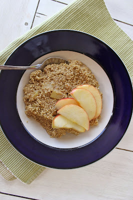 Cinnamon Apple Crockpot Quinoa