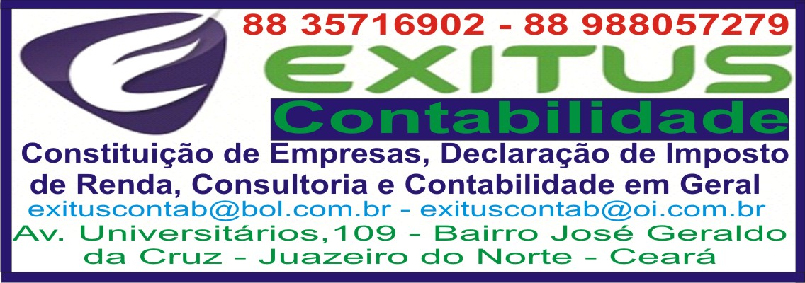 Encontre Exitus Contabilidade no Facebook