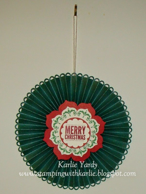 Stamping with karlie 12 days of christmas cards door wreath for 12 days of christmas door decoration