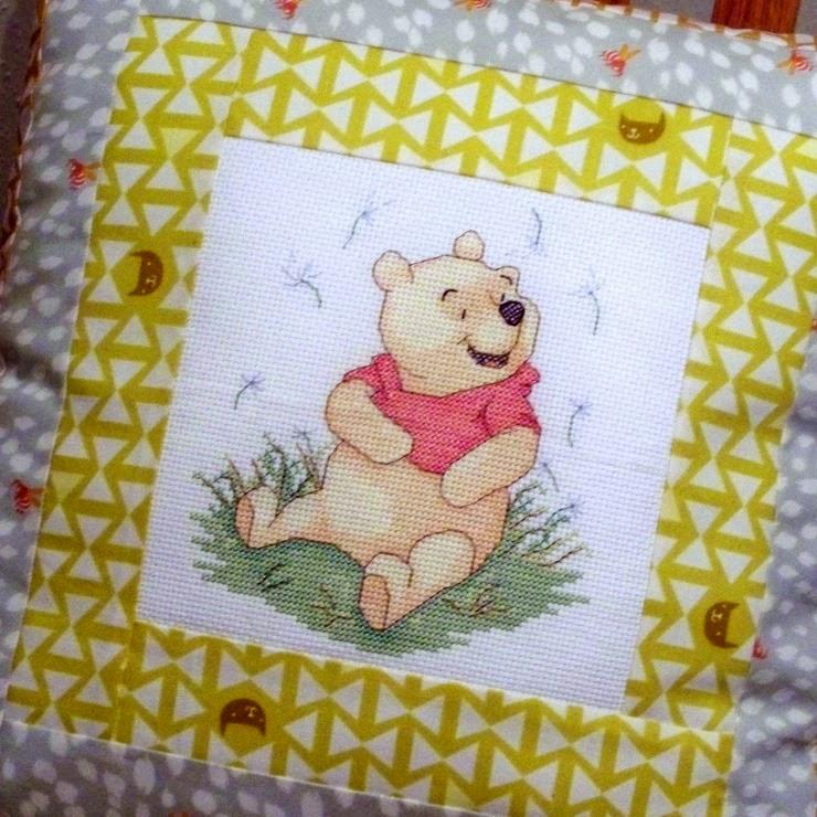 http://www.cloverandviolet.com/2014/09/log-cabin-pillow-cross-stitch-embroidery.html