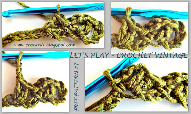 Crochet Stitch Rtrf : free crochet patterns, zig zag, how to crochet, vintage crochet,