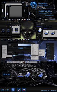 XENOMORPH THEME WINDOWS 7 by ~bbosa
