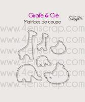 http://www.4enscrap.com/fr/les-matrices-de-coupe/444-sophie-l-girafe-cie.html