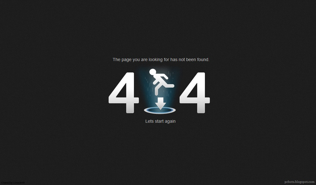 404 error messages page not found pcbots labs blog