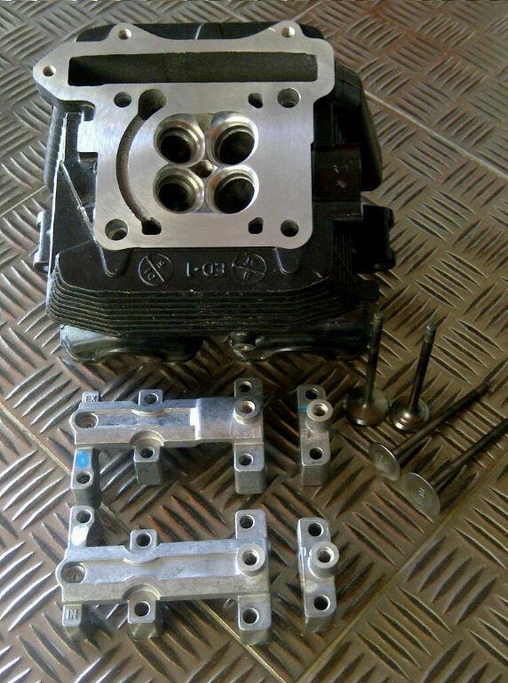 Suzuki FU150 big valves cylinder head (by request) title=