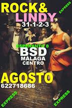 ROCK & LINDY INTENSIVO  EN  AGOSTO 31-1-2-3 EN BSD BAILAS MÁLAGA CENTRO.