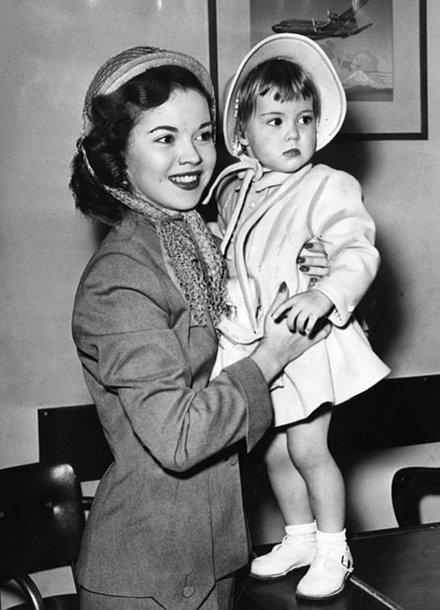 Baby Has Taken Her Last Bow. The Life of Shirley Temple ...