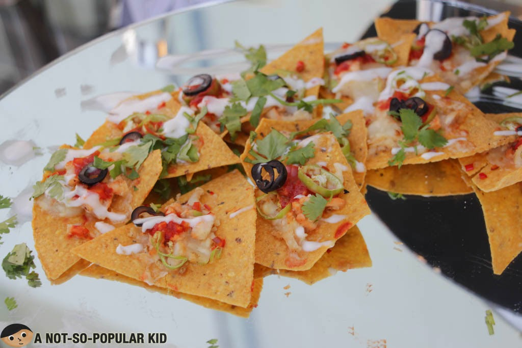 The nachos with a kick that marks - Pan Pacific Hotel