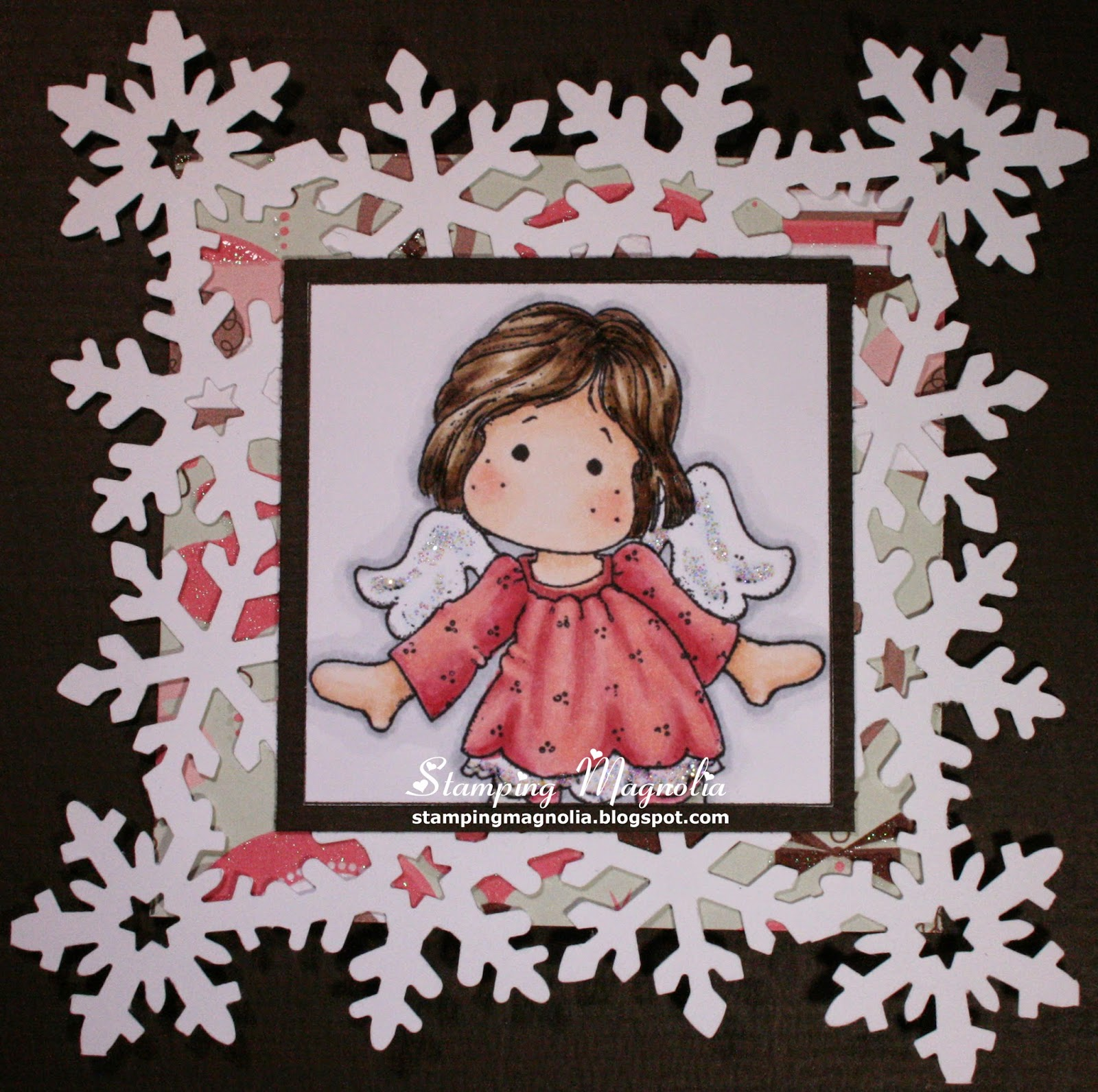 Coloring Magnolia Stamp Little Merry Christmas Collection - Little Tilda