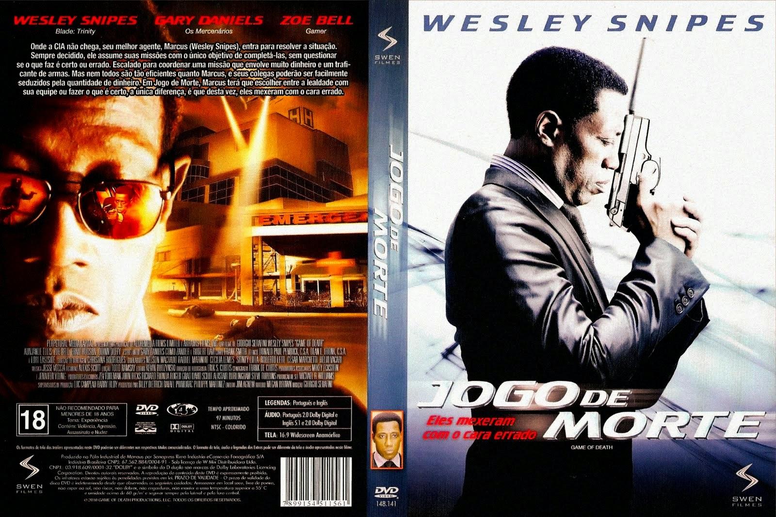 Filme Jogo De Morte DVD Capa