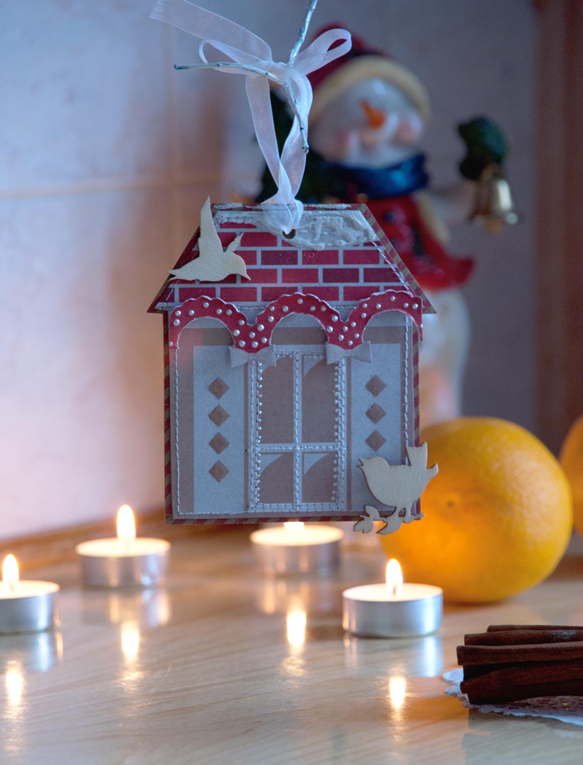 игрушка+домик+новый год