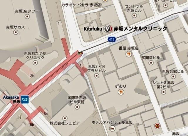 japan akasaka kitafuku map