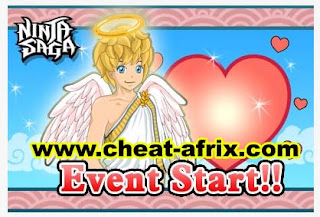 Cheat Valentine's day 2013 Ninja Saga Fiddler