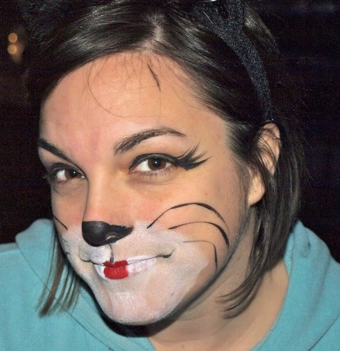 Mini matisse naea 15 snazaroo face paint cat picture number one and should one have a cat picture number two well i do i just grabbed a could of face painted images of myself solutioingenieria Image collections