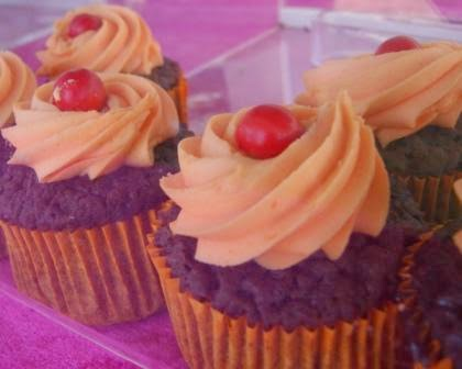 orange flavoured cupcakes with jaffa flavour for sale
