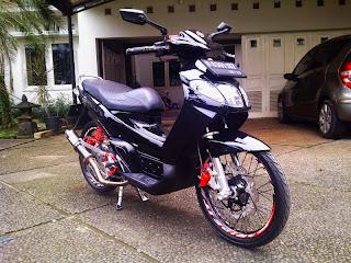 Modifikasi Yamaha Nouvo Lele