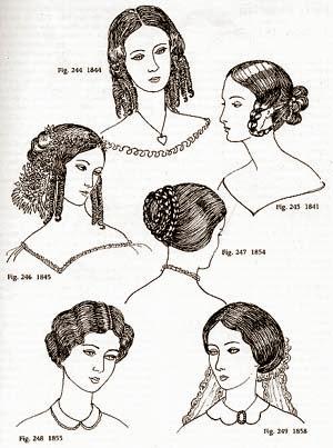 mina harker peinados victorianos