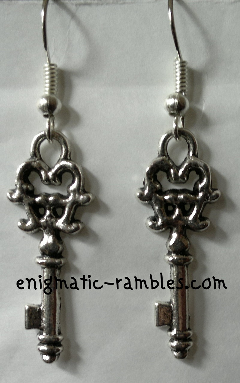 key-earrings-antique-steam-punk
