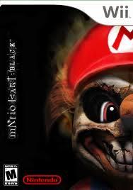 images Mario Kart Black   Wii   NTSC U