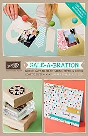 Stampin' Up Sale-A-Bration 2014