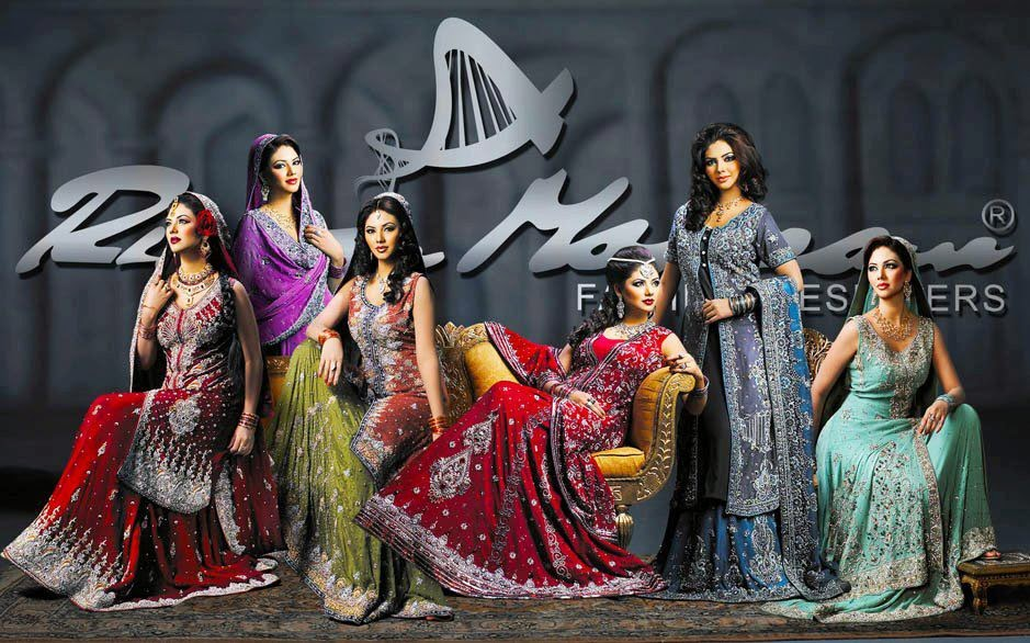Pakistani Bridal Collection 2014 By Rizwam Mouzzam
