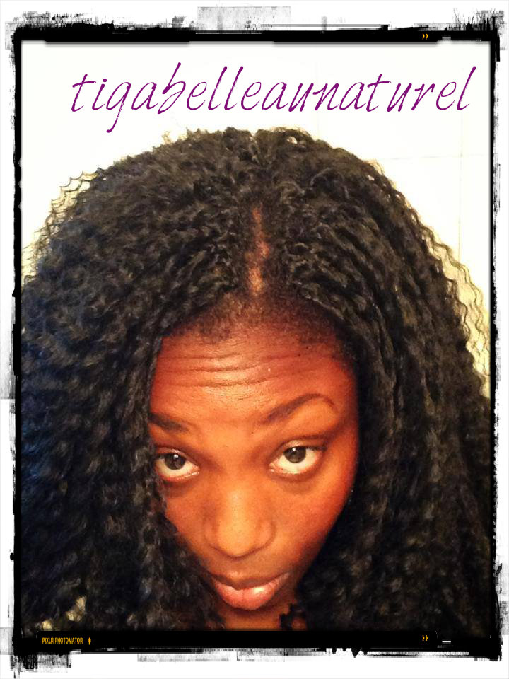 Que Crochet Hair : Tigabelleaunaturel: Mon aventure crochet braids