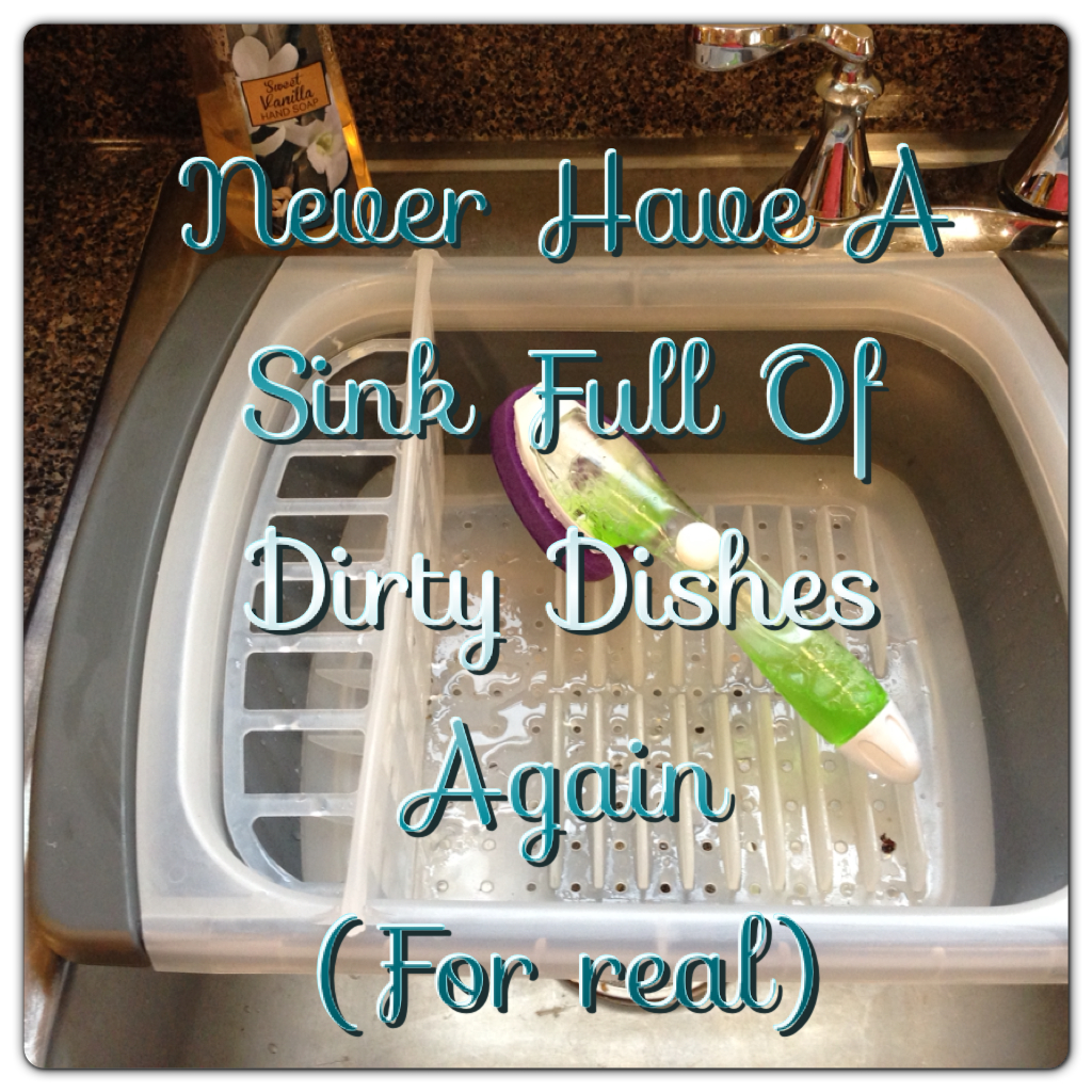 Banish That Sink Of Dirty Dishes