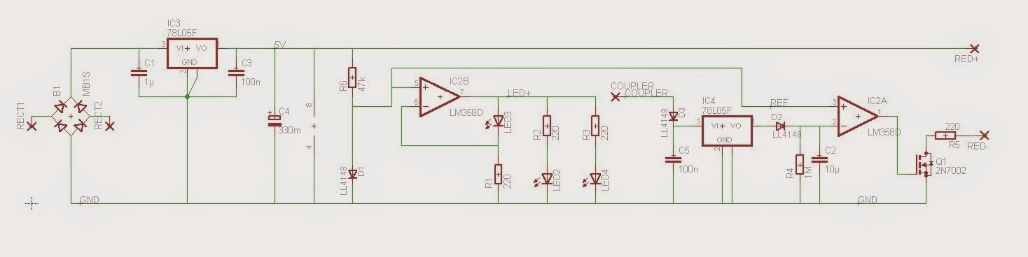 Modellbahn-Technik-Blog: Automatisch abschaltende Zugschlussbeleuchtung