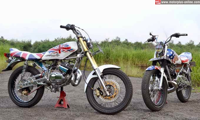 cara modifikasi motor rx king