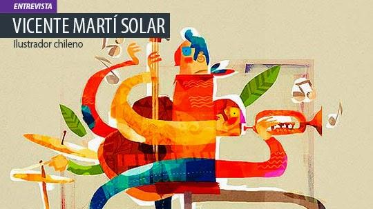 Entrevista. VICENTE MARTÍ, ilustrador y artista visual chileno.
