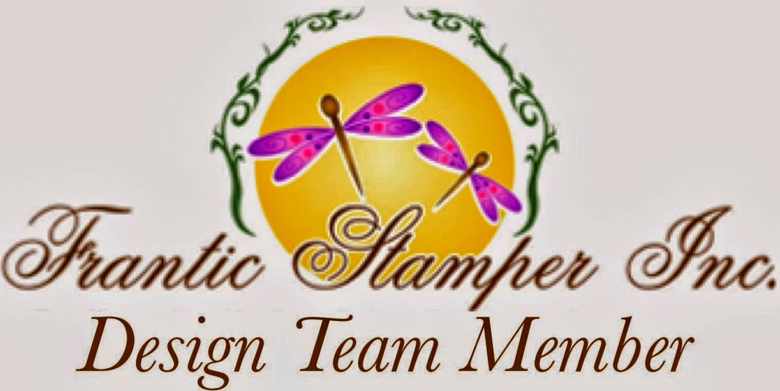 I'm a Member of the Frantic Stamper Design Team