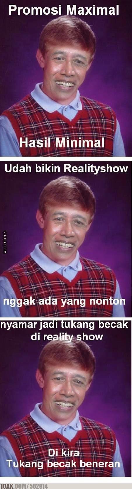 Meme Lucu Wiranto Menyamar